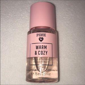 💄 5/$15 PINK Warm & Cozy Mini Mist ✨🧡✨